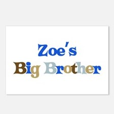 Zoe's Big Brother Postcards (Package of 8)