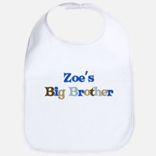 Zoe's Big Brother Bib