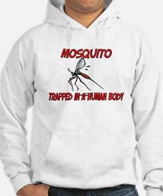 Mosquito trapped in a human body Hoodie