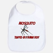 Mosquito trapped in a human body Bib