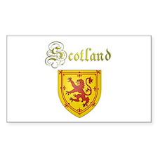 Dynamic Scotland. Rectangle Decal