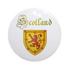 Dynamic Scotland. Ornament (Round)