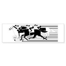HORSE RACING! Bumper Bumper Sticker