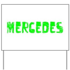 Mercedes Faded (Green) Yard Sign
