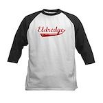Eldredge (red vintage) Kids Baseball Jersey