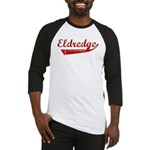 Eldredge (red vintage) Baseball Jersey