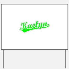 Retro Kaelyn (Green) Yard Sign