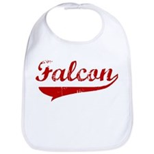 Falcon (red vintage) Bib