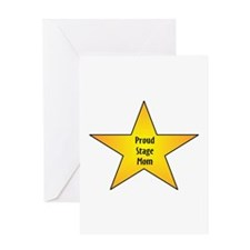 Proud Stage Mom Greeting Card