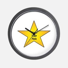 Proud Stage Mom Wall Clock