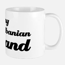 I love my Albanian Husband Mug