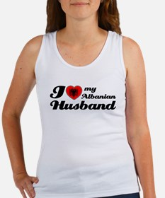 I love my Albanian Husband Women's Tank Top