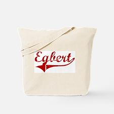 Egbert (red vintage) Tote Bag
