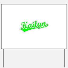Retro Kailyn (Green) Yard Sign