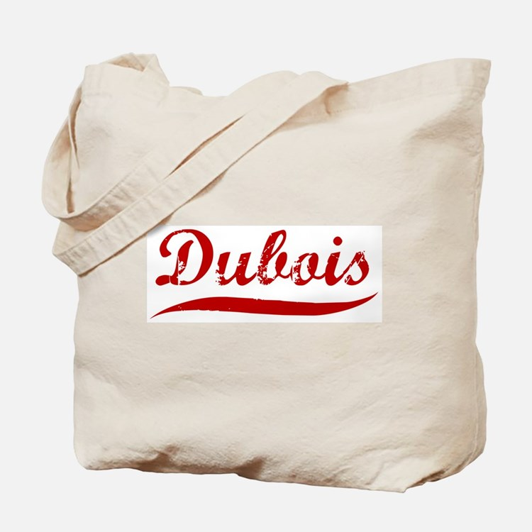 Dubois (red vintage) Tote Bag