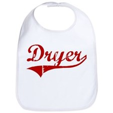 Dryer (red vintage) Bib