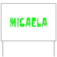 Micaela Faded (Green) Yard Sign