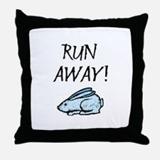 Run Away! Throw Pillow