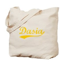 Vintage Dasia (Orange) Tote Bag