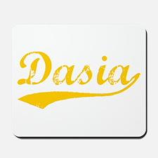 Vintage Dasia (Orange) Mousepad