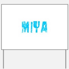 Miya Faded (Blue) Yard Sign