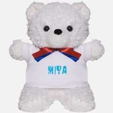 Miya Faded (Blue) Teddy Bear