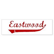 Eastwood (red vintage) Bumper Bumper Bumper Sticker