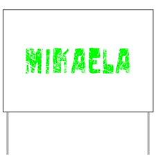 Mikaela Faded (Green) Yard Sign