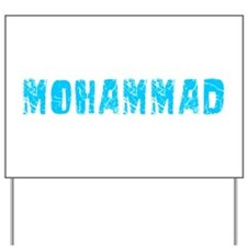 Mohammad Faded (Blue) Yard Sign