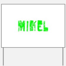 Mikel Faded (Green) Yard Sign