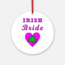 Irish Brides Ornament (Round)