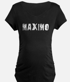 Maximo Faded (Silver) T-Shirt