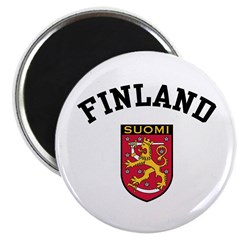 Finland Coat of Arms Magnet