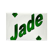 Jade2 Rectangle Magnet