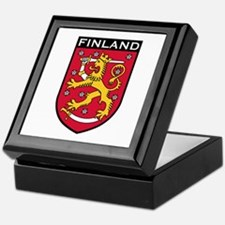 Finland Coat of Arms Keepsake Box
