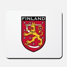 Finland Coat of Arms Mousepad