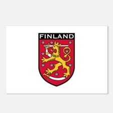 Finland Coat of Arms Postcards (Package of 8)