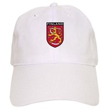 Finland Coat of Arms Baseball Cap
