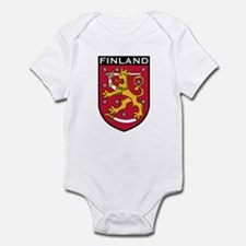 Finland Coat of Arms Infant Bodysuit