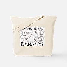 Drive Me BANANAS Tote Bag