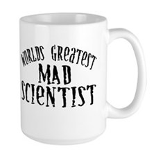 World's Greatest Mad Scientist Mug