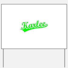 Retro Karlee (Green) Yard Sign