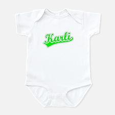Retro Karli (Green) Infant Bodysuit