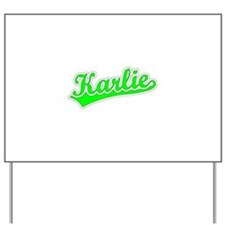 Retro Karlie (Green) Yard Sign