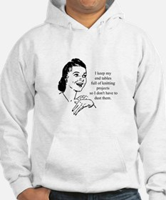 Knitting - Don't Have to Dust Hoodie