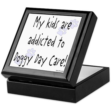 My kids are addicted Keepsake Box
