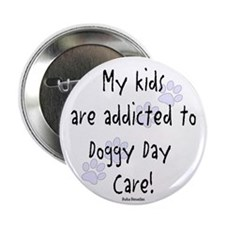 """My kids are addicted 2.25"""" Button"""