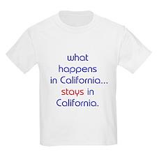 WHAT HAPPENS IN CALIFORNIA T-Shirt