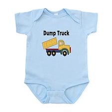Dump Truck Infant Bodysuit