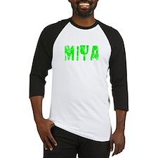 Miya Faded (Green) Baseball Jersey